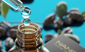 Cold pressed nanoil jojoba oil